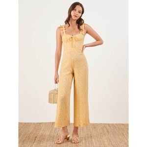NWT 00P Reformation Moore Jumpsuit